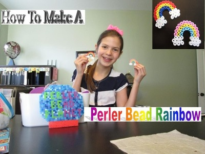 How To Make A Perler Bead Rainbow