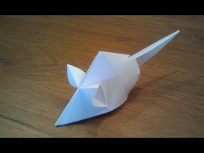 How To Make an Origami Mouse (Tetsuya Gotani)
