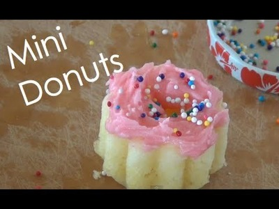 How to Make Mini Donuts!