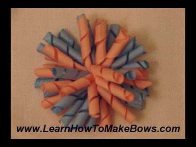I love making girls hair bows!  See what I learn how to make!