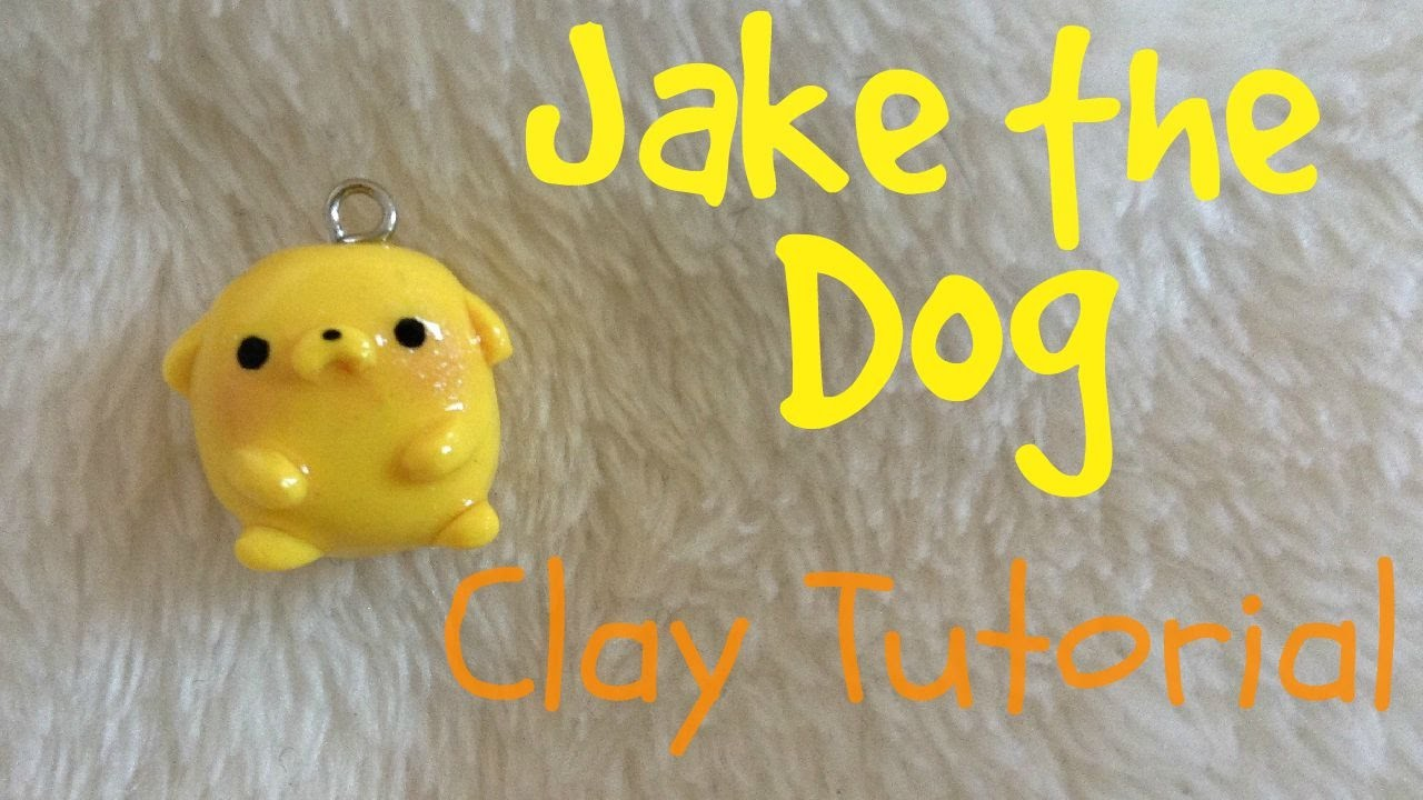 Jake the Dog | Polymer Clay | Kawaii Moon ɞ