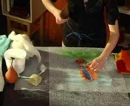 Kurs filcowania na mokro - obrazek Wet felting course