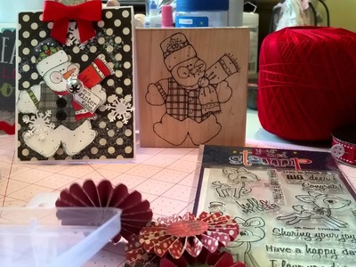 Lawn Fawn, cards and sewing project