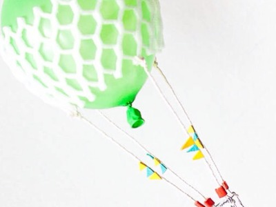 Make a Hot Air Balloon Mobile - DIY Crafts - Guidecentral