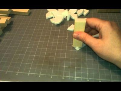 Make your own sponge daubers