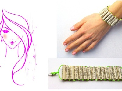 MORENA DIY: HOW TO MAKE A DRINKING STRAW BRACELET
