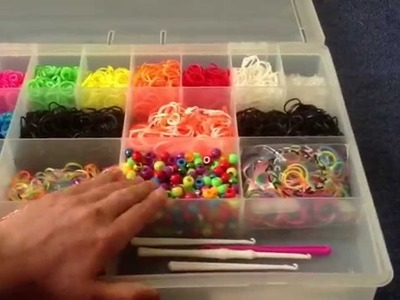 NEW Rainbow Loom Organizer Case 2!