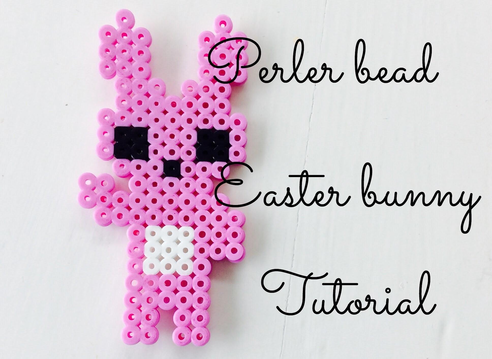 Perler Bead Bunny Easter Tutorial