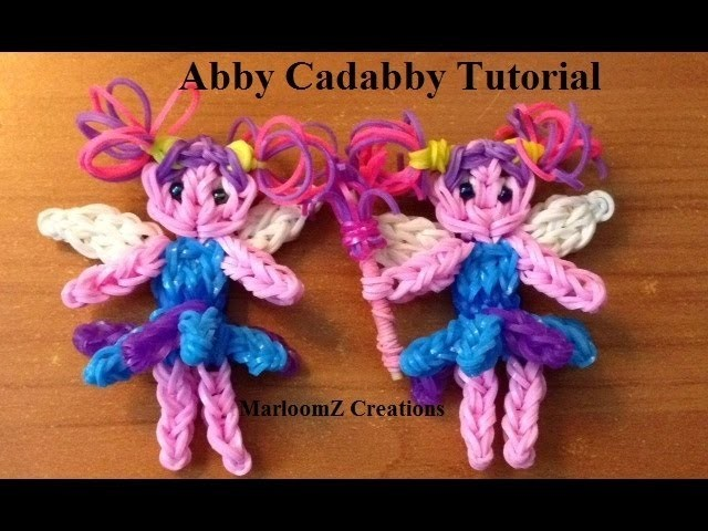 Rainbow Loom Abby Cadabby doll or Charm