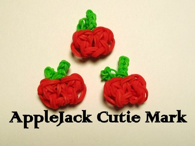 Rainbow Loom Apple.AppleJack Cuite Mark(My Little Pony) - How to