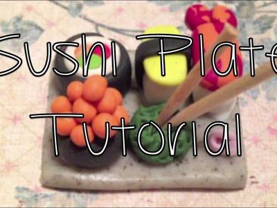 Sushi Plate Tutorial!