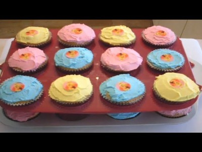 TINKERBELL CUPCAKES - VIDEO RECIPE
