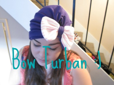 Adding a Bow to your Turban