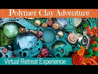 Chris Kapono is teaching at the Polymer Clay Adventure Retreat 2015