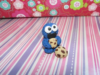 ❤Cookie monster. Polymer clay. Monstruo come galletas de arcilla polimerica❤
