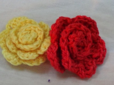 CROCHET ROSE FLOWER FOR BEGINNERS-2