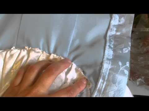 Disney Cinderella Dress Tutorial Part 3 Swags & Collar piece