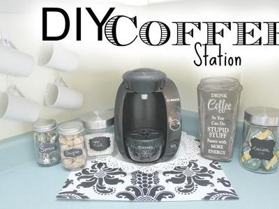 DIY Coffee Station!!