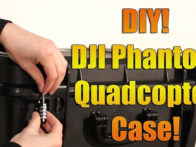 DIY- DJI Phantom 1, 2 or 3 Quadcopter Seahorse SE920 Case