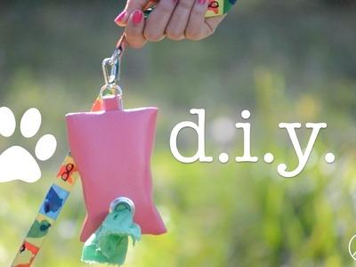 DIY Dog Waste Bag Dispenser