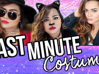 DIY Last Minute Halloween Costumes! Cheap & EASY!