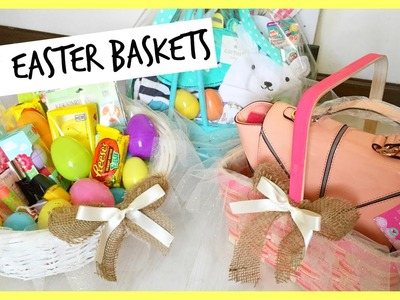 DIY.Making Easter Baskets! See What's Inside! BelindasLife