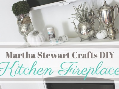 DIY: Martha Stewart Crafts: | Kitchen Fireplace