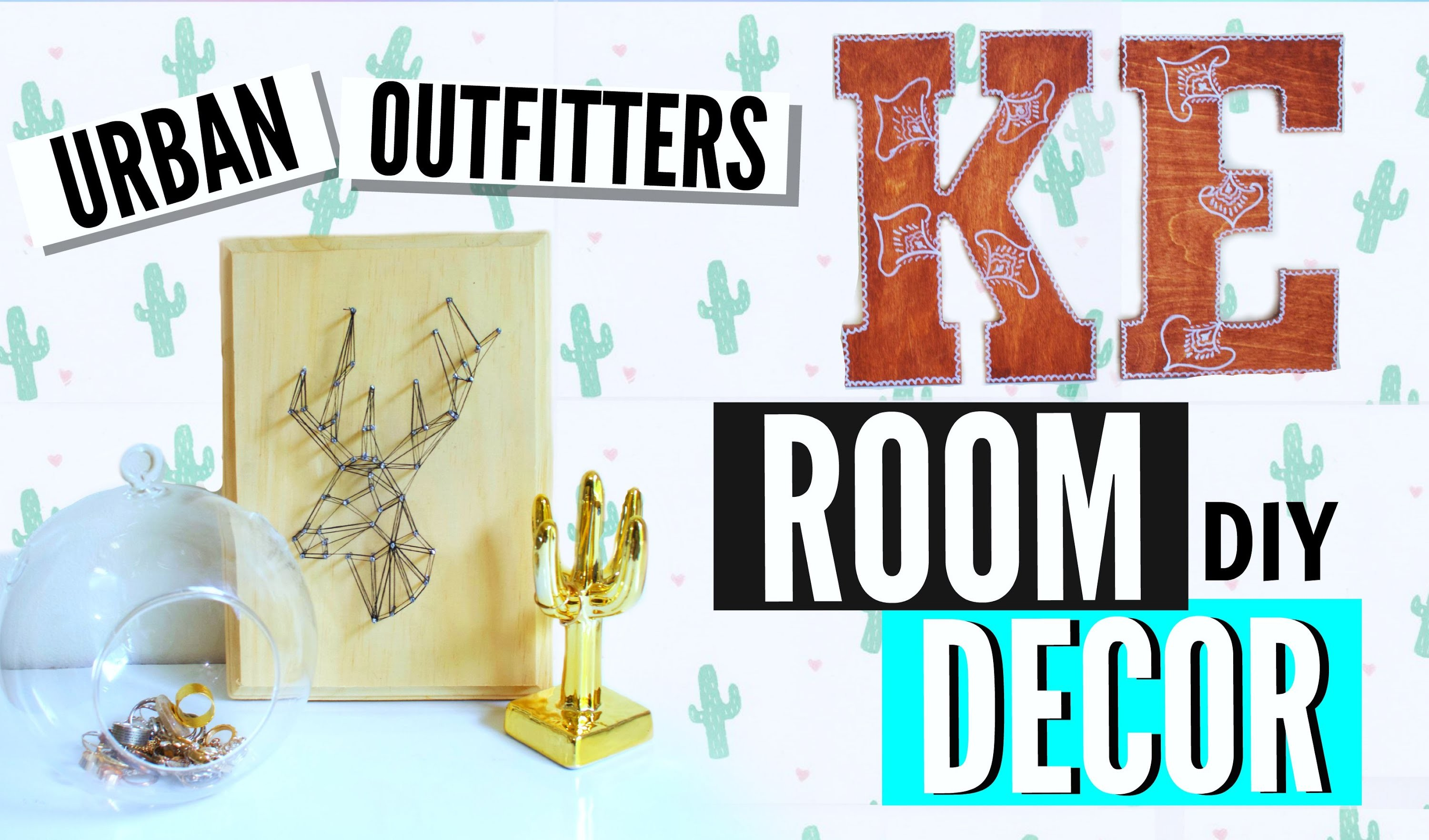 DIY Urban Outfitters ROOM DECOR !