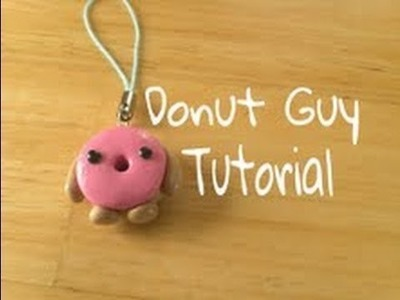 Donut Character Tutorial (Polymer Clay)