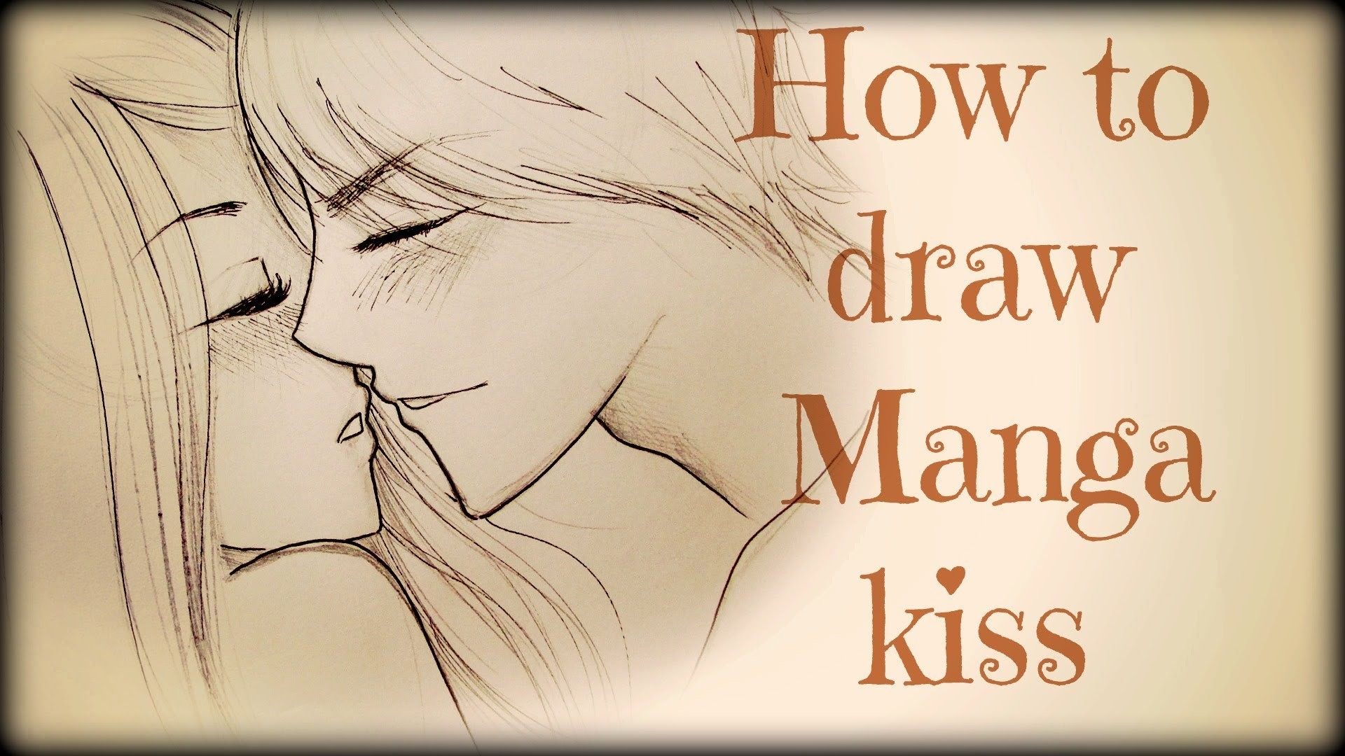 Drawing Tutorial ❤ How to draw a couple kissing