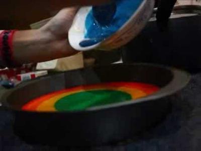 Epic Rainbow Cake :)