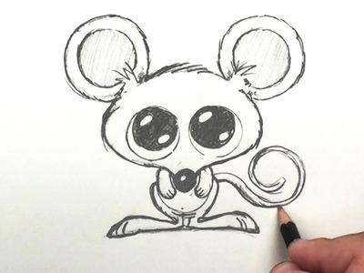 How to Draw a Mouse - Easy Cartoon Mouse Drawing Lessons for Kids | BP