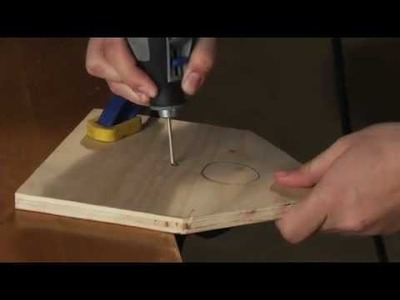 How to Make a Birdhouse: Dremel MotoSaw