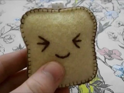 How To Make A Kawaii Toast Plushie
