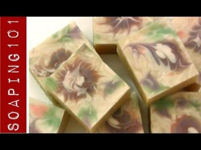 How to Make Goats Milk Soap {with ebru tops}