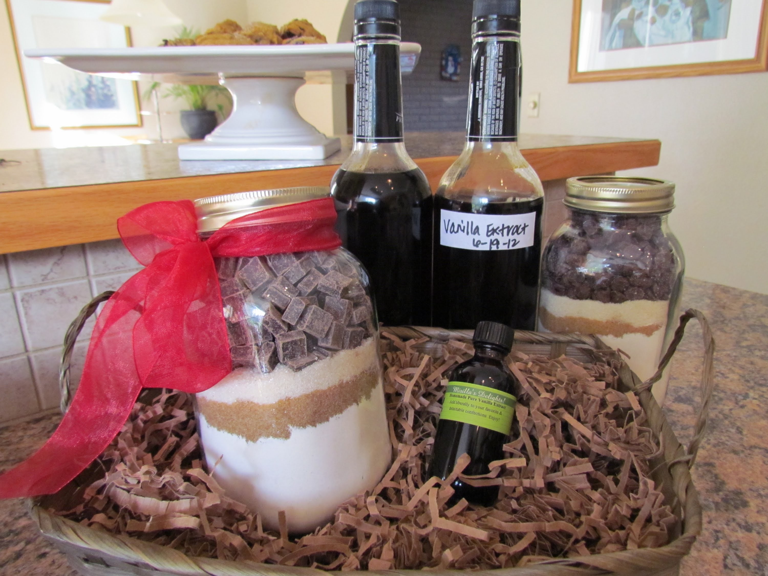 How to make Vanilla Extract Part 2 Cookie Jar Mix Gift Basket DIY EZ