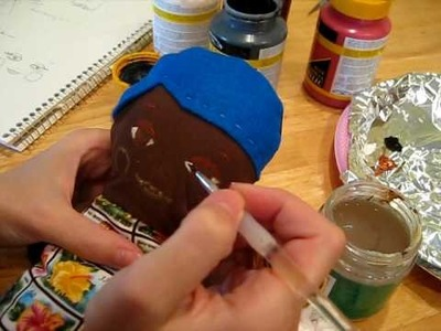 How to Paint a Dolly Face  Part 2