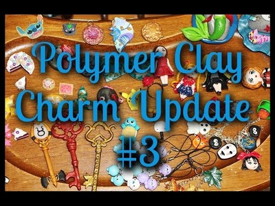 Huge Polymer Clay Charm Collection #3 (Chibis, Keys, Figurines and More!)