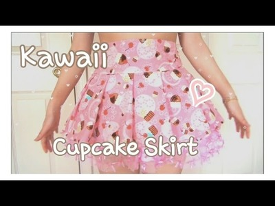 Kawaii Fashion Pleated Skirt | Sewing Tutorial | w. 2 Cats & 1 Doll ♡ BerryWhimsy