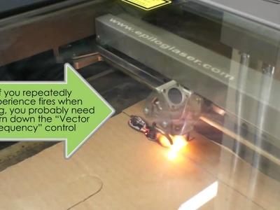 Laser Cutter Tutorial, FabLab@School, Part 3 of 3: Preparing the Laser Cutter