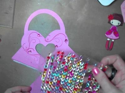 Let's Get Crafty # 80 Valentines Treat Box