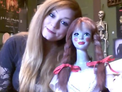 My Annabelle Doll Movie Prop! The Conjuring DIY by Me