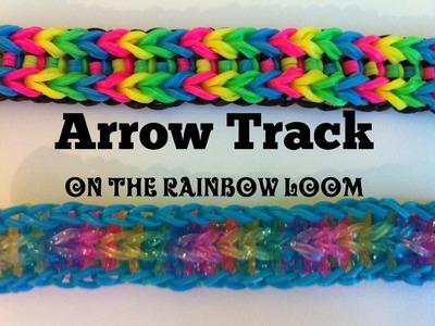 NEW Arrow Track bracelet on the Rainbow Loom
