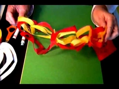 Paper Decorations for Parties or Holidays