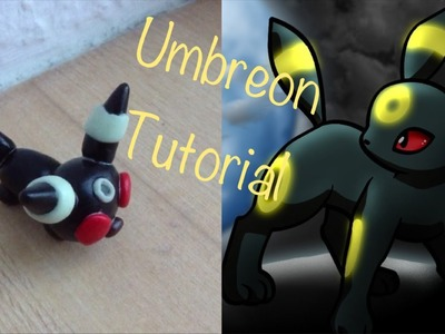 Pokemon Umbreon Polymer Clay Charm Tutorial