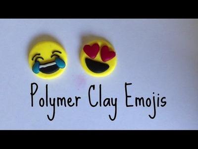 Polymer Clay Emojis!
