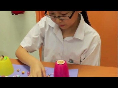 She is Sabrina Lim. She is a polymer claymaker.