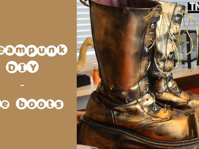 Steampunk DIY - the boots