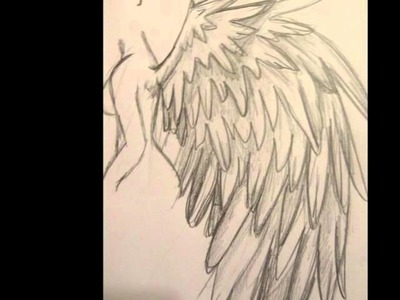 Tutorial-How to Draw Angel Wings