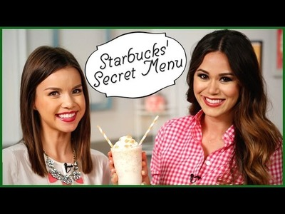 3 Secret Starbucks' Drinks You Can Make at Home! w. Missglamorazzi | Eat the Trend